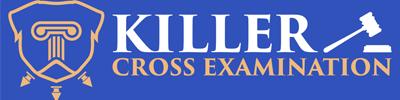 Killer Cross Examination Logo